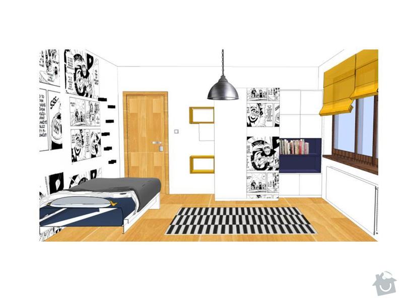 Návrh obývacího a dětského pokoje: Snimek6