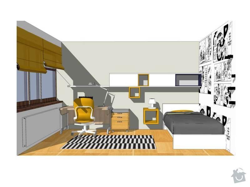 Návrh obývacího a dětského pokoje: Snimek7