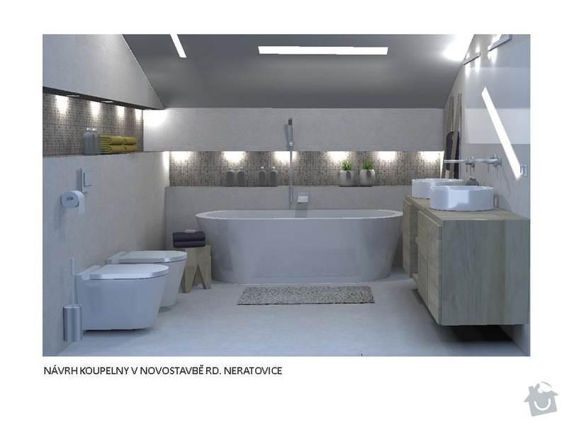 Návrh interiéru rodinného domu: Snimek1