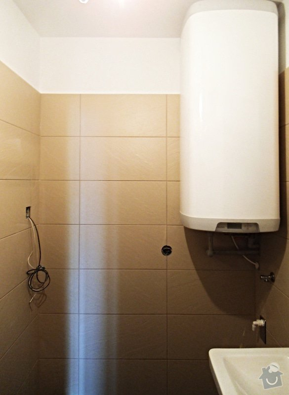 Rekonstrukce koupelny, WC a vymena stoupacek v Praze 9: 006