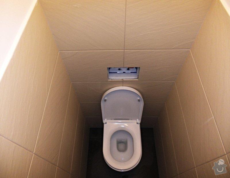 Rekonstrukce koupelny, WC a vymena stoupacek v Praze 9: 009