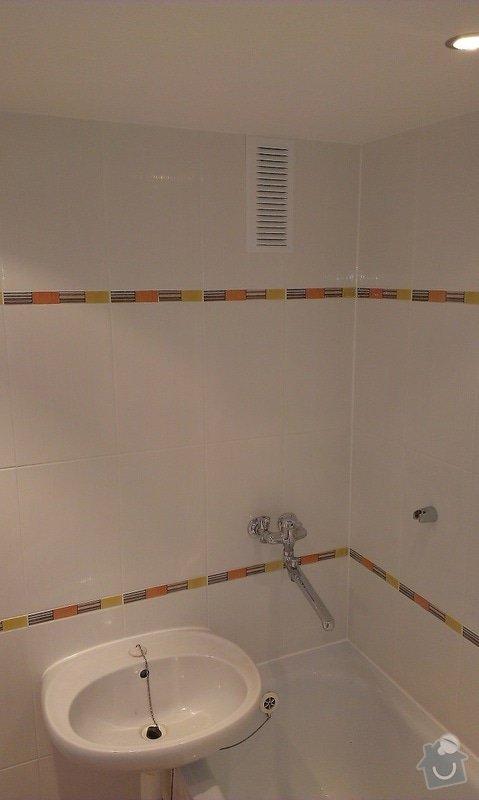 Rekonstrukce koupelny: koupelna1
