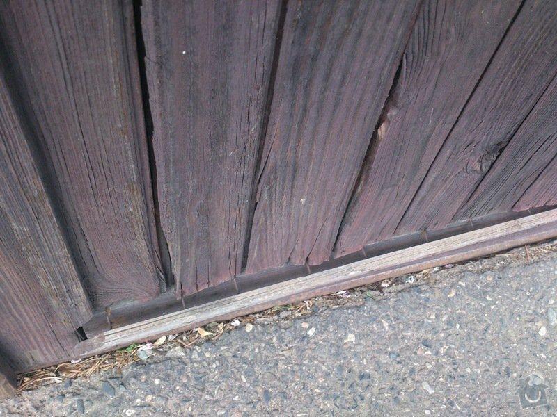 Oprava/renovace vrat do garáže: DSC_0160
