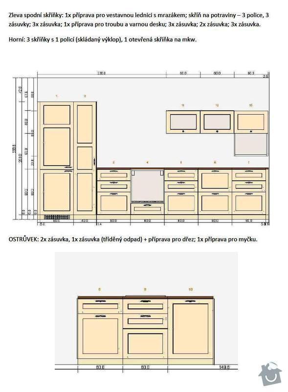 Kuchyňská linka: Kuchyn_navrh