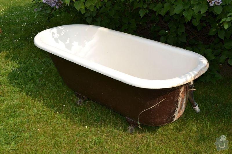 Renovace litinové smaltované vany: obr01