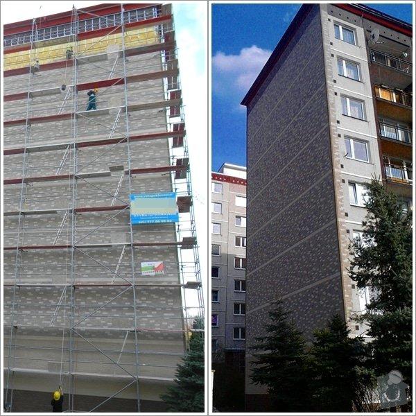 Zateplení štítu panelového domu: page