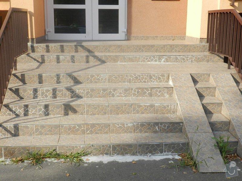 Oprava venkovního schodiště: DSCN3836