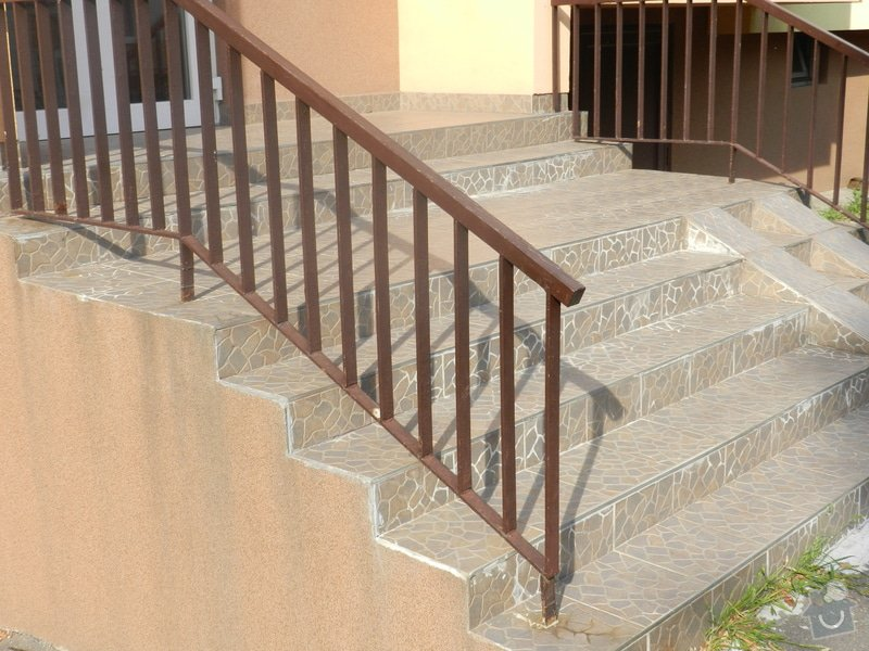 Oprava venkovního schodiště: DSCN3837