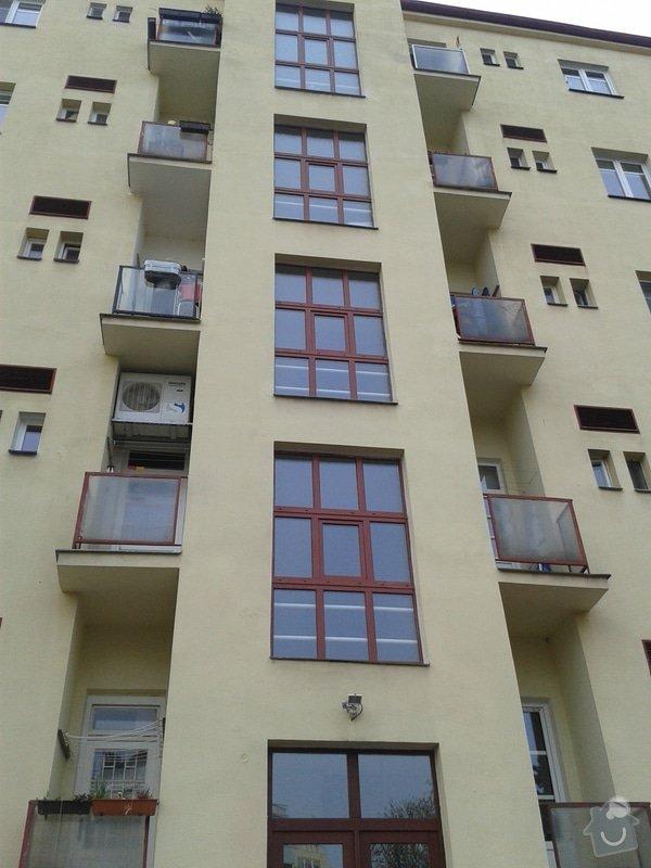 Výměna oken na chodbách: 20140401_103940