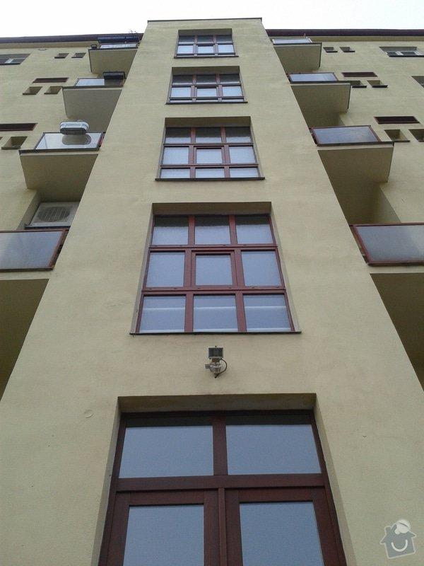 Výměna oken na chodbách: 20140401_103956