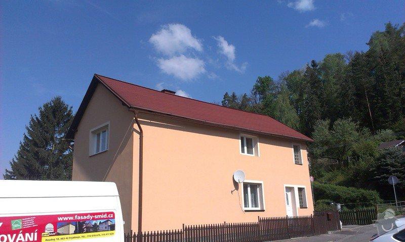 Zhotovení nové fasády + Zhotovení vyrovnávající stěrky, nové fasády: IMAG0672