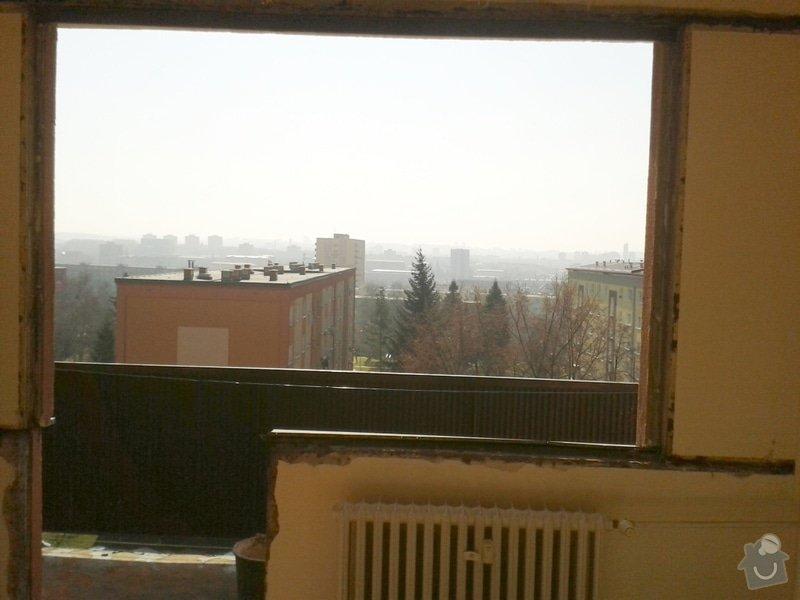Dodávka a montáž plastových oken a balkonových dveří: 20140310_110923