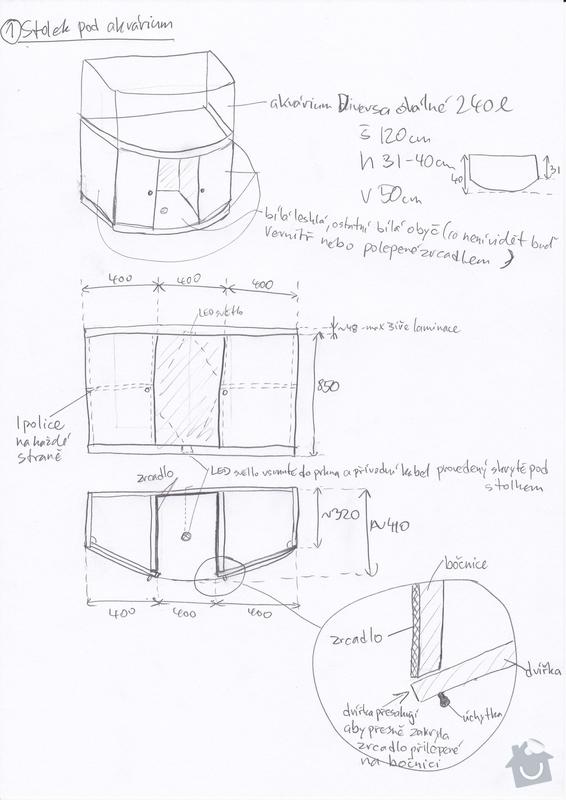 4ks nabytku na miru - 2 stoly pod akvarium, police a obal kvetinace: 20140202_0001-stolek