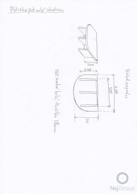 4ks nabytku na miru - 2 stoly pod akvarium, police a obal kvetinace: 20140202_0004-police_pod_male_akvarium