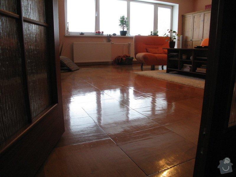 Oprava stěn + nová podlaha + malování : IMG_4712