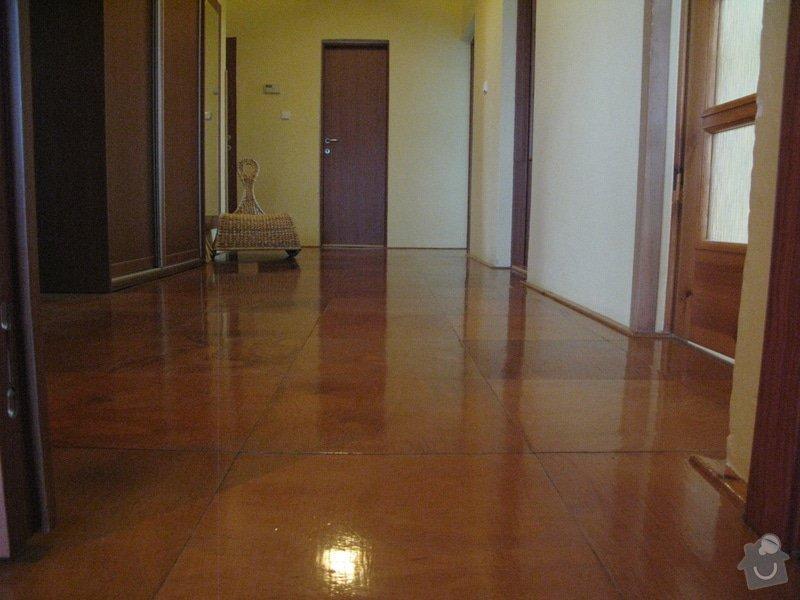 Oprava stěn + nová podlaha + malování : IMG_4713