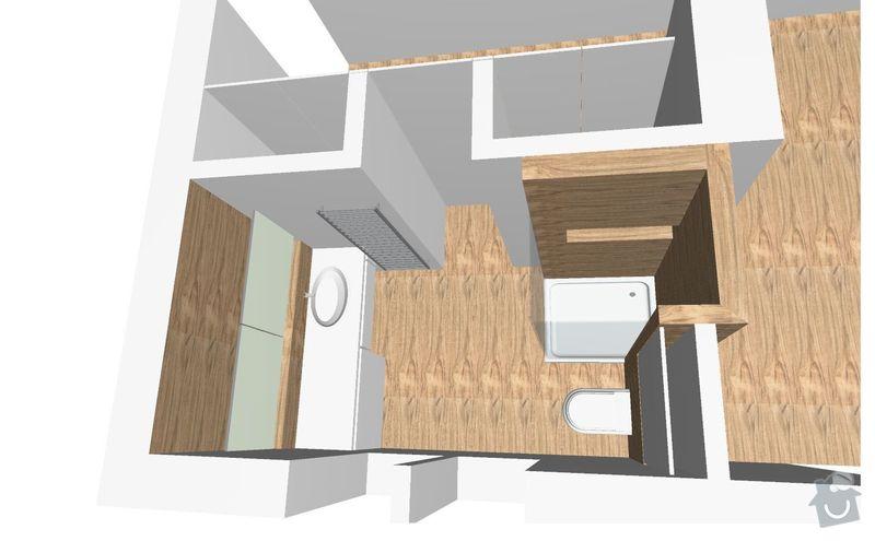 Rekonstrukce bytu: ONDERKOVA_KOUPELNA