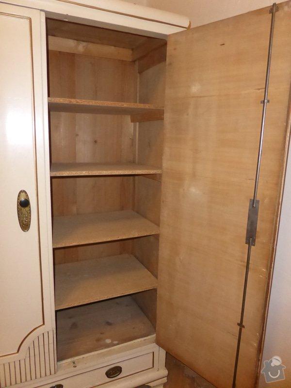 Renovace skříní v ložnici (6 ks): P1000194