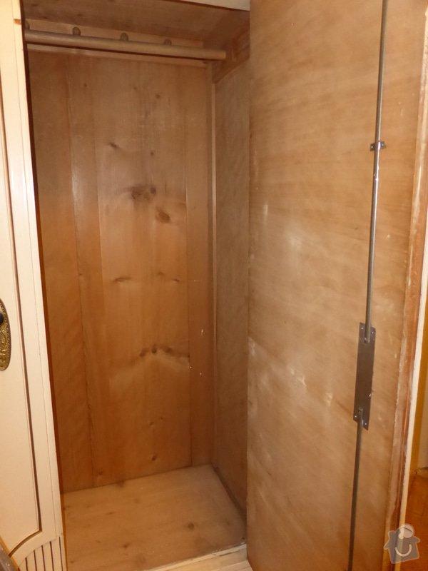 Renovace skříní v ložnici (6 ks): P1000195