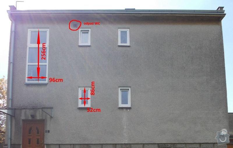 Zateplení stěn RD: Pohled_S