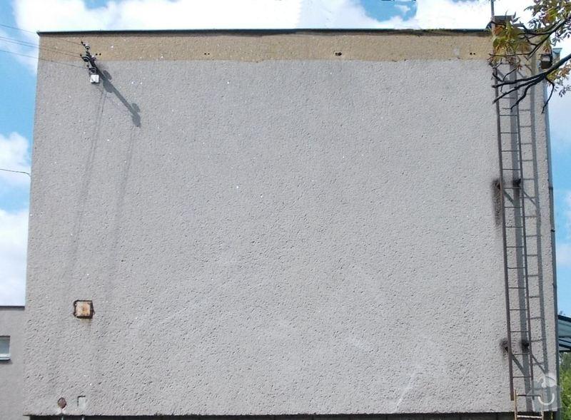 Zateplení stěn RD: Pohled_V