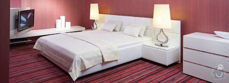 Vestavěná skříň+postel: loznice-5