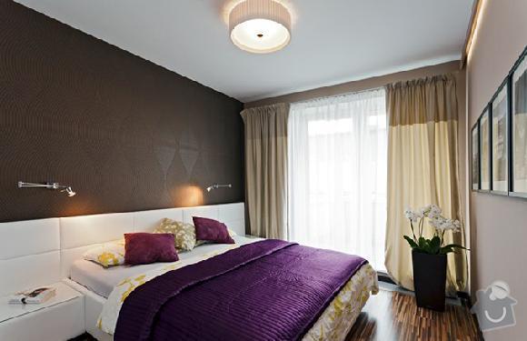 Vestavěná skříň+postel: loznice