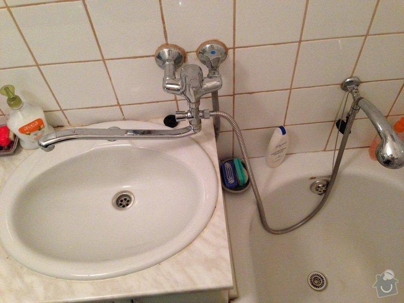 Rekonstrukce koupelny a wc - panelak: IMG_1777