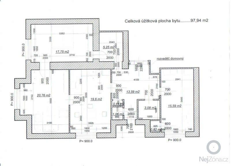 Kompletní topení v bytě: Planek_bytu