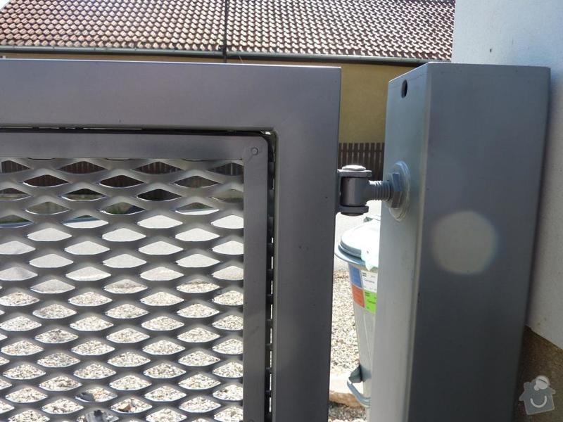 Brána a branka z tahokovu: detail_01