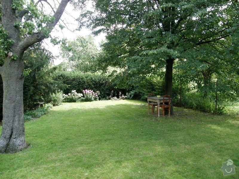 Úprava a revitalizace zahrady po dokončené rekonstrukci domu: P8010120