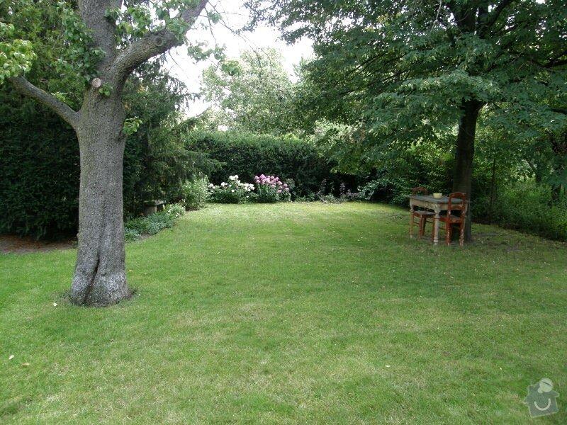 Úprava a revitalizace zahrady po dokončené rekonstrukci domu: P8010121