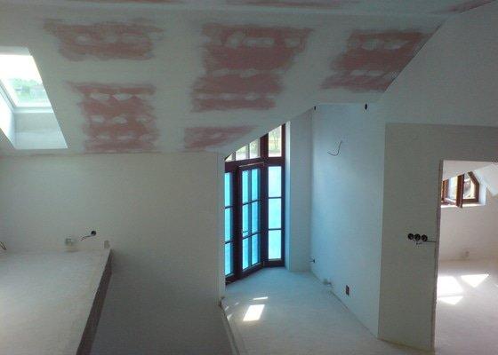 Izolace + sádrokartony podkroví v RD