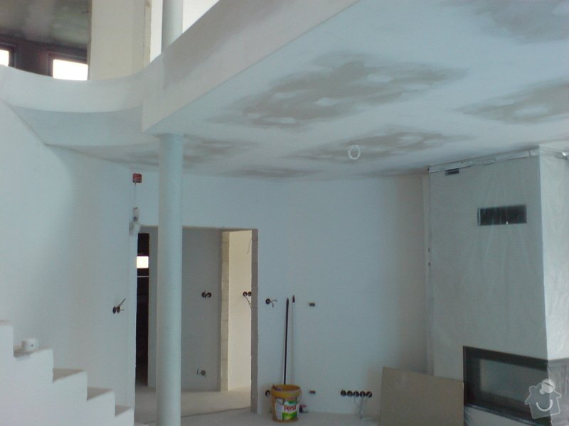 Izolace + sádrokartony podkroví v RD: DSC00036