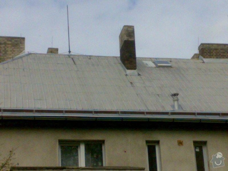 Oprava hliníkové střechy - bytový dům v Bořinách: 05052014218