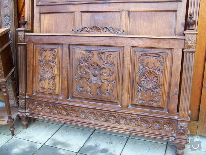 Renovace starozitne postele, skrine: 200_8909