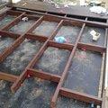 Pokladka drevenne terasy terasa 2