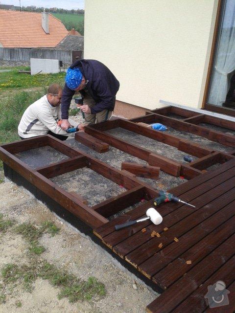 Pokládka dřevěnné terasy: terasa_4