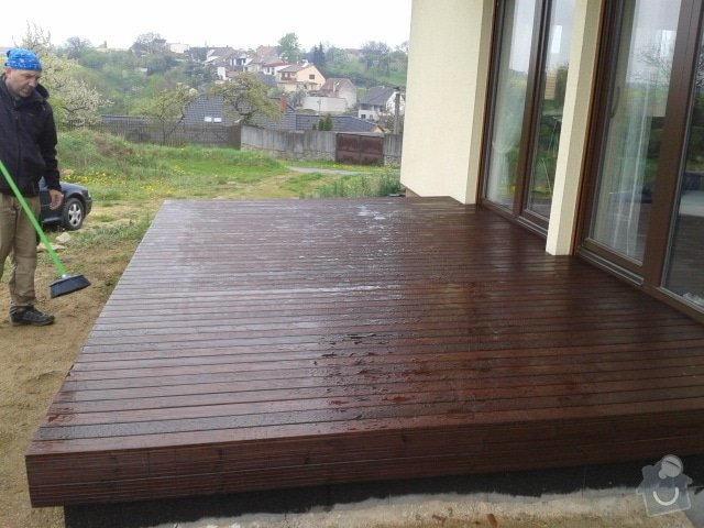 Pokládka dřevěnné terasy: terasa_5