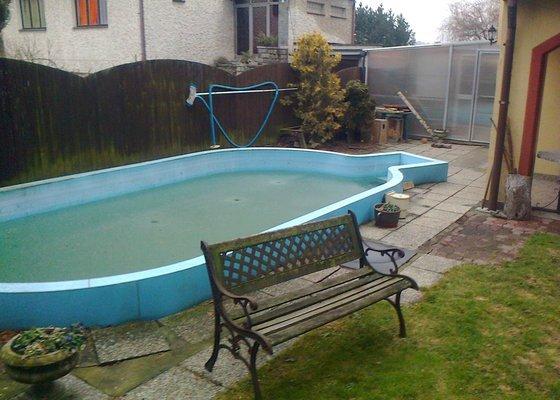 Bazén - ovál 6x3m