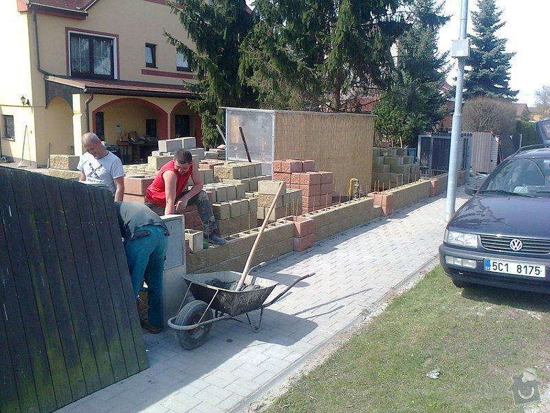 Stavba oplocení RD: Fotografie0738