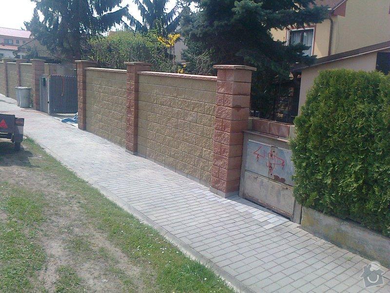 Stavba oplocení RD: Fotografie0796
