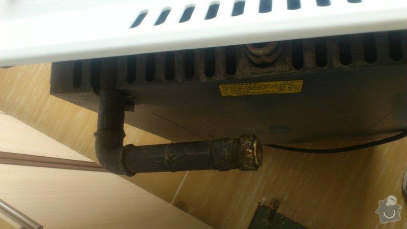 Zapojení plynového sporáku + malá úprava vedení: DSC_0190