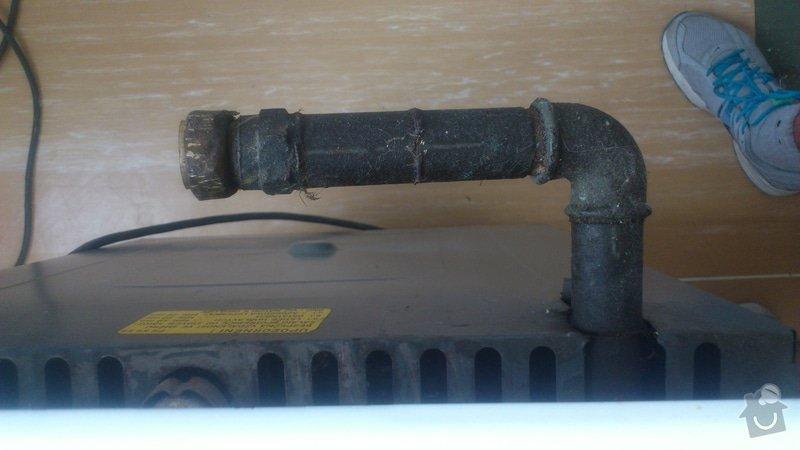 Zapojení plynového sporáku + malá úprava vedení: DSC_0191