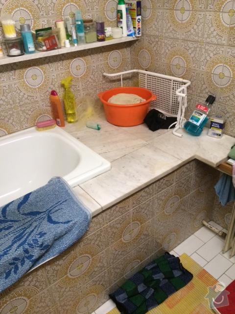Celková rekonstrukce koupelny (stavební práce, vodoinstalace, elektroinstalace, zednické práce, obklady, podlaha): koupelna5