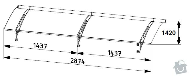 Částečné zastřešení terasy: moduly_XL_287
