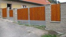 Nový plot+branka a brána