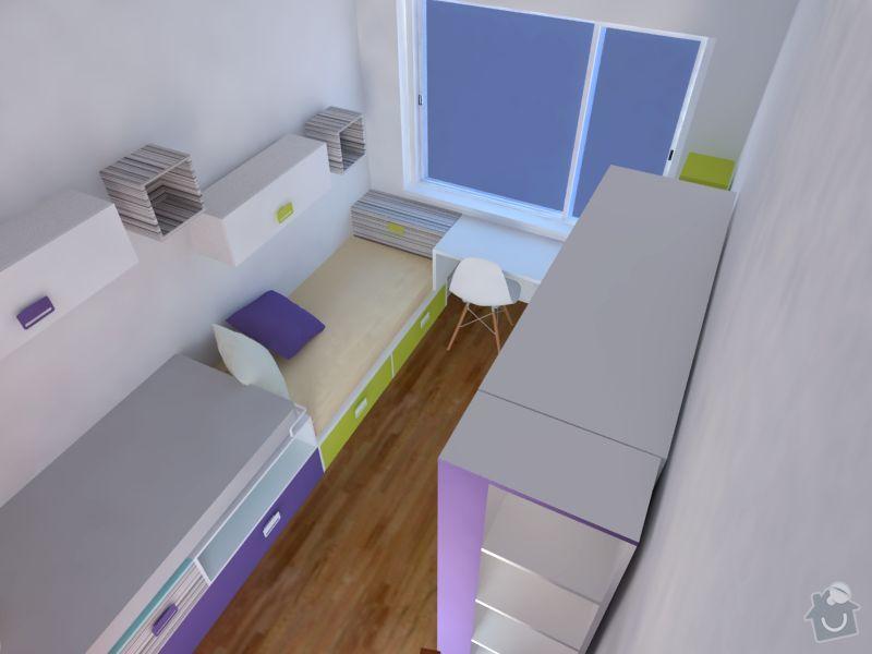 Měla bych zájem o výrobu nábytku do  dětského pokoje: 2