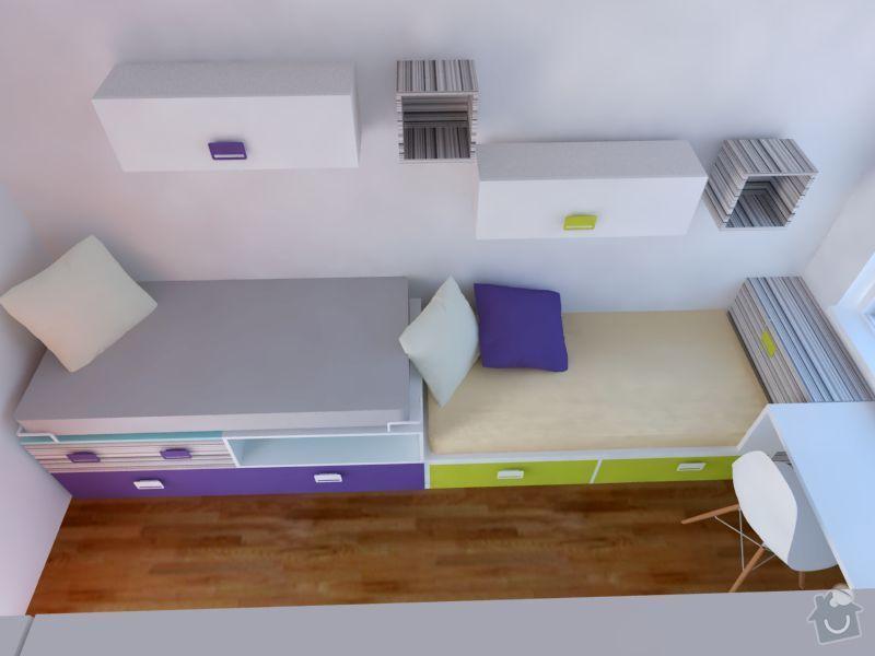 Měla bych zájem o výrobu nábytku do  dětského pokoje: 3