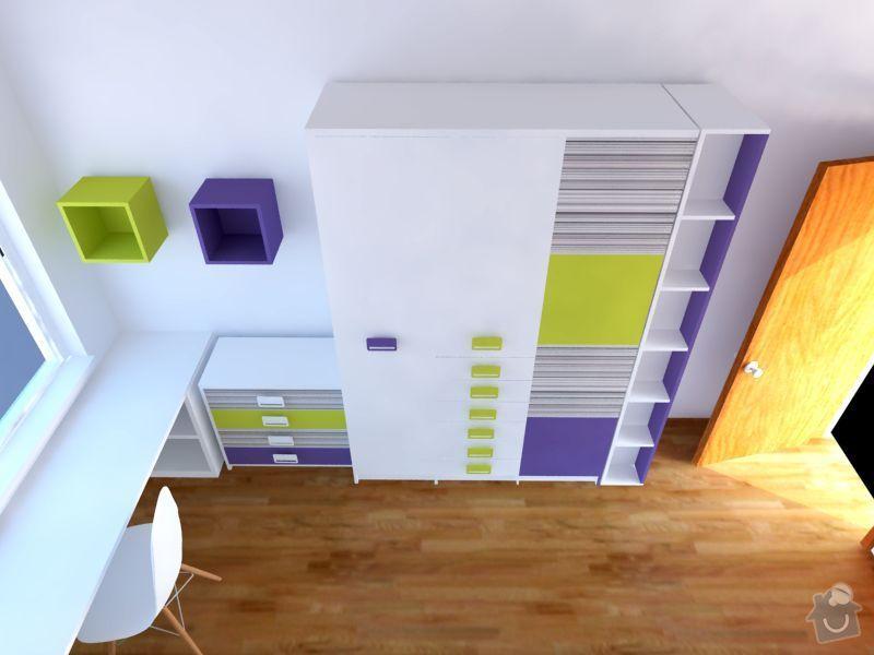 Měla bych zájem o výrobu nábytku do  dětského pokoje: 4
